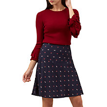 Buy Hobbs Ellen Jumper, Red Online at johnlewis.com