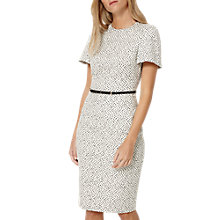 Buy Damsel in a dress Tribe Jacquard Dress, Ivory/Black Online at johnlewis.com