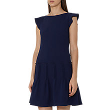 Buy Reiss Melanie Pinktuck Dress, Ink Online at johnlewis.com