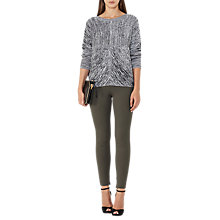 Buy Reiss Tyne Super Skinny Trousers, Khaki Online at johnlewis.com