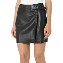 Buy Reiss Ace Hardware Skirt, Black Online at johnlewis.com