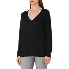Buy Reiss Sally Merino V-Neck Online at johnlewis.com
