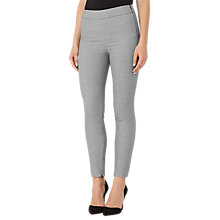 Buy Reiss Stala Skinny Trousers, Black/Off White Online at johnlewis.com