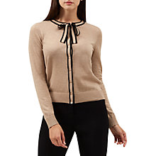 Buy Hobbs Penny Cardigan, Camel Black Online at johnlewis.com