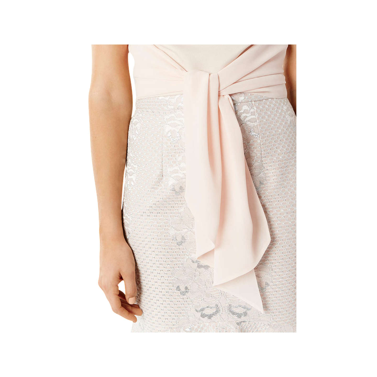 BuyCoast Jolene Roll Neck Top, Blush, 6 Online at johnlewis.com