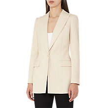 Buy Reiss Oxley Blazer, Champagne Online at johnlewis.com
