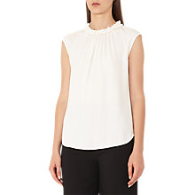 Buy Reiss Magda Sleeveless Tank, Lily White Online at johnlewis.com