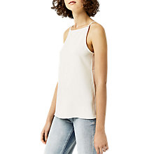 Buy Warehouse Square Neck Cami, Cream Online at johnlewis.com
