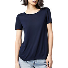 Buy Warehouse Smart T-Shirt, Navy Online at johnlewis.com