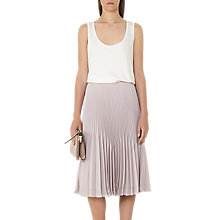 Buy Reiss Hanna Scoop Neck T-Shirt, Off White Online at johnlewis.com