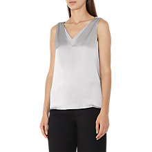 Buy Reiss Coraline Silk Front Vest Online at johnlewis.com