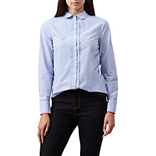 Buy Hobbs Sierra Shirt, Ivory Online at johnlewis.com