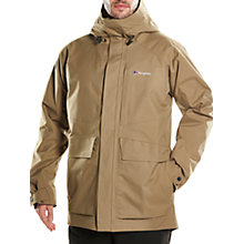 Buy Berghaus Stiloy Men's Waterproof Jacket, Tan Online at johnlewis.com