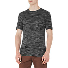 Buy Reiss Fordon Flecked Crew Neck T-Shirt Online at johnlewis.com