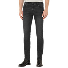 Buy Reiss Pinto Tapered Slim Fit Jeans, Washed Black Online at johnlewis.com
