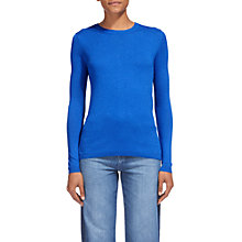 Buy Whistles Annie Sparkle Knit Top, Blue Online at johnlewis.com