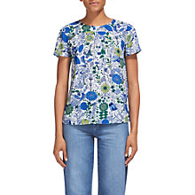 Buy Whistles Folk Print Top, Multi Online at johnlewis.com