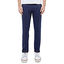 Buy Ted Baker Lapaz Flecked Cotton-Blend Trousers Online at johnlewis.com