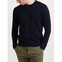 Buy Tommy Hilfiger Cotton Silk Jumper Online at johnlewis.com