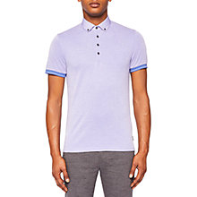 Buy Ted Baker Branin Polo, Blue Online at johnlewis.com