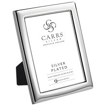Buy Carrs Outline Silver Plated Photo Frame Online at johnlewis.com
