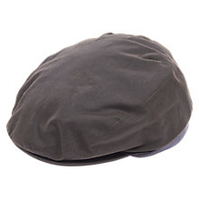 Buy Barbour Defender Waxed Flat Cap, Olive Online at johnlewis.com