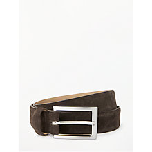Buy John Lewis Suede Leather Belt Online at johnlewis.com