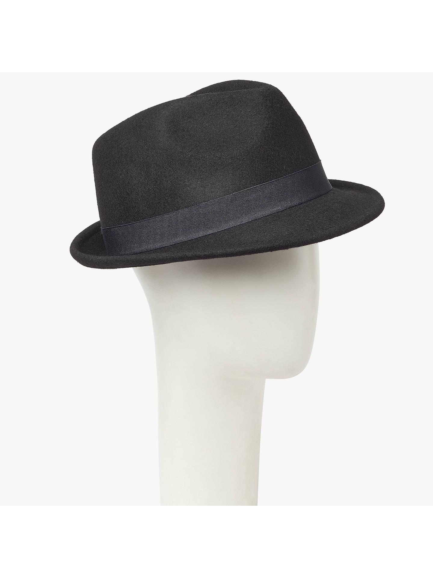BuyJohn Lewis Wool Trilby Hat bab7bfc6097