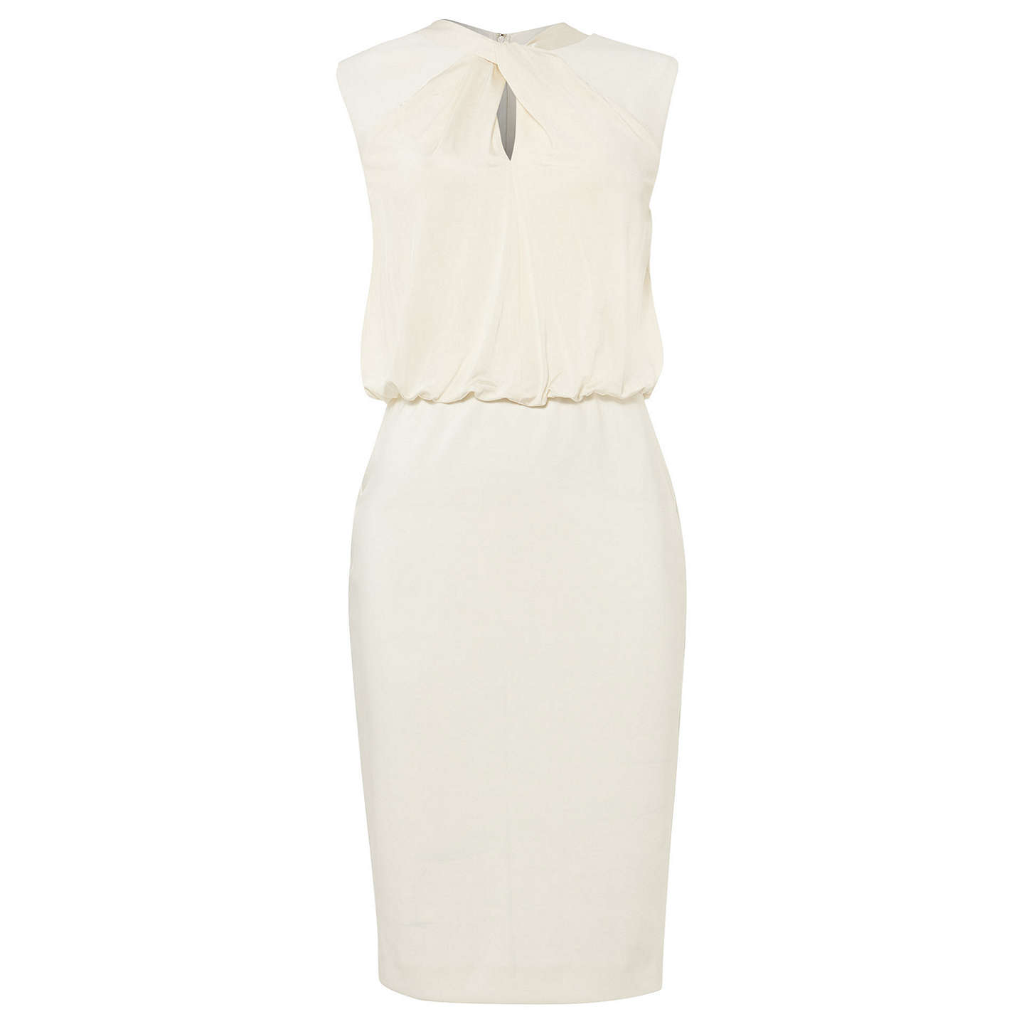 BuyDamsel in a dress Wisdom Twist Dress, Ivory, 16 Online at johnlewis.com