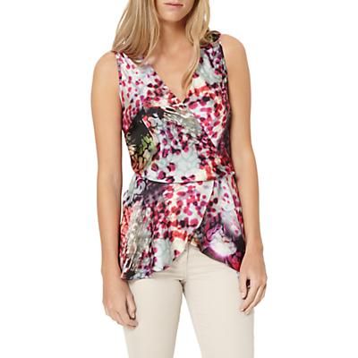 0c2c451934 Damsel in a Dress Rainbow Leopard Drape Top