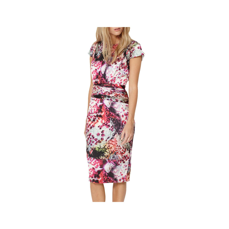 Damsel in a dress Rainbow Leopard Print Dress Multi at John Lewis