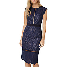 Buy Damsel in a dress Maneki Lace Dress, Navy Online at johnlewis.com