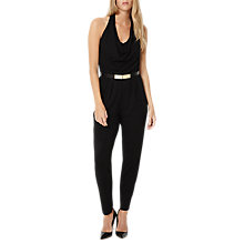 Buy Damsel in a dress Halterneck Jumpsuit, Black Online at johnlewis.com