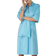 Buy Closet Tie Front Shirt Dress, Blue Online at johnlewis.com