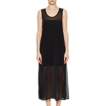 Buy French Connection Celia Jeresy Maxi Dress, Black Online at johnlewis.com
