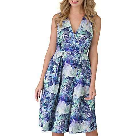 Buy Closet Pleated Wrap Dress, Multi Online At Johnlewis.com ...