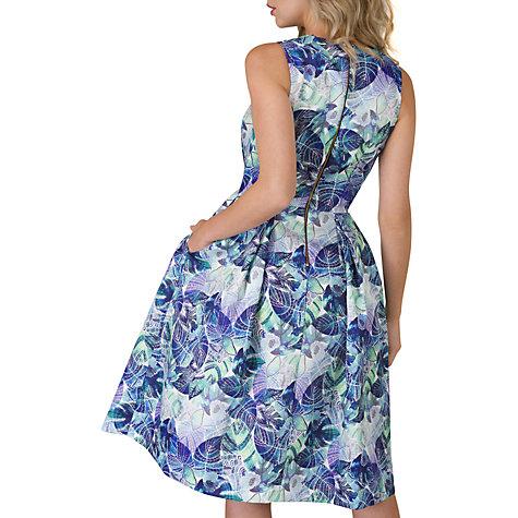 ... Buy Closet Pleated Wrap Dress, Multi Online At Johnlewis.com ...