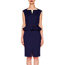 Buy Ted Baker Nadaed Peplum Dress Online at johnlewis.com