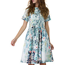 Buy Closet Tie Waist Dress, Multi Online at johnlewis.com