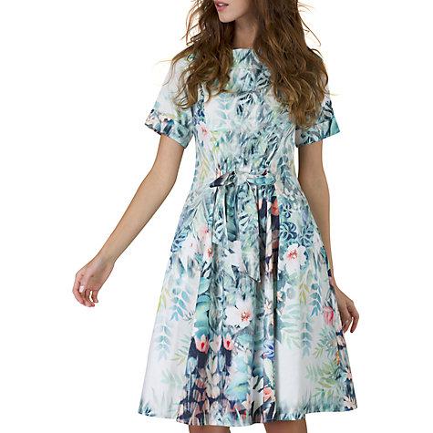 Buy Closet Tie Waist Dress, Multi Online At Johnlewis.com ...