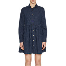 Buy French Connection Button Down Shirt Dress, Indigo Blue Online at johnlewis.com