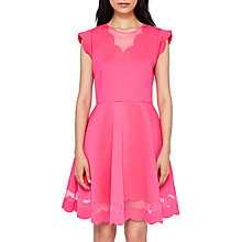 Buy Ted Baker Scallop Skater Dress Online at johnlewis.com