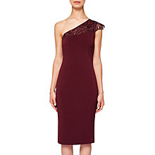 Buy Ted Baker Jalis One Shoulder Bodycon Dress Online at johnlewis.com