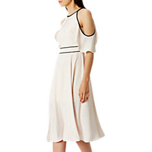 Buy Coast Victoria Soft Midi Dress, Blush Online at johnlewis.com