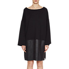 Buy French Connection Inez Jersey Tunic Dress, Black Online at johnlewis.com