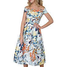 Buy Closet Floral Off-Shoulder Dress, Multi Online at johnlewis.com