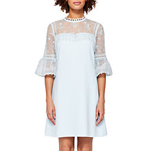 Buy Ted Baker Raechal Lace Peplum Dress Online at johnlewis.com