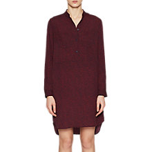 Buy French Connection Callie Dress, Red/Black Online at johnlewis.com