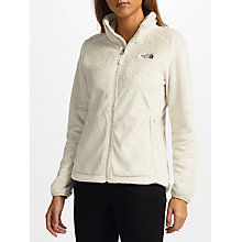 Buy The North Face Osito 2 Women's Fleece Jacket, White Online at johnlewis.com