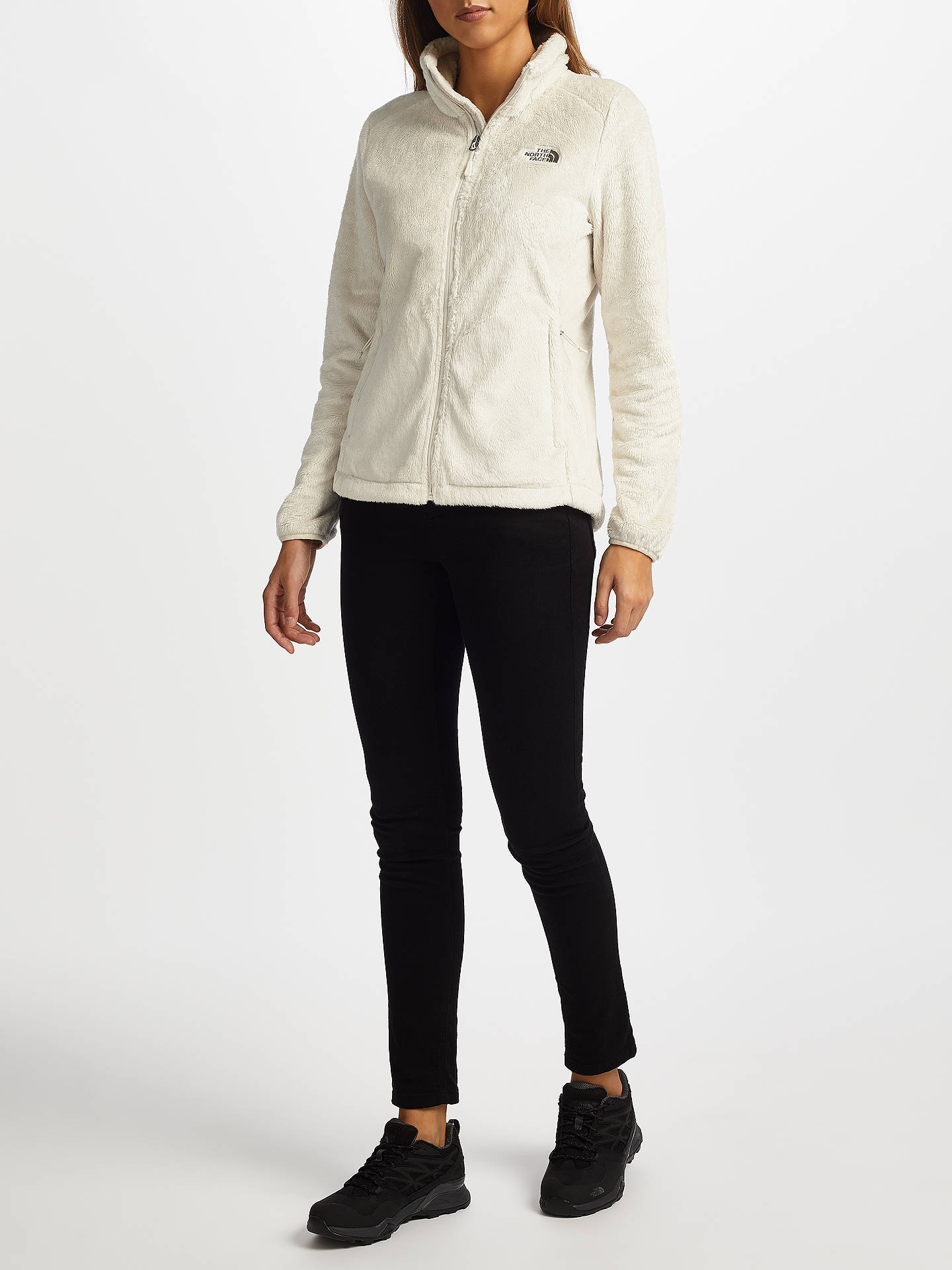 b1728c65e The North Face Osito 2 Women's Fleece Jacket, White at John Lewis ...